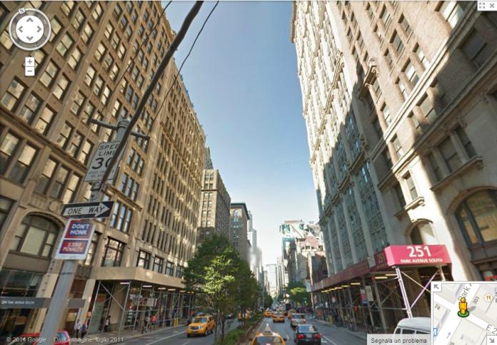 Park Avenue & 23rd St.