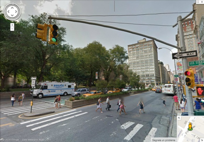 Park Avenue in corrispondenza di Union Square.