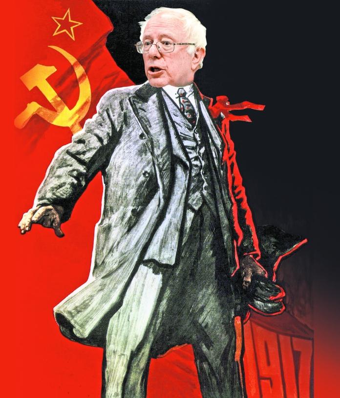 Soviet propaganda poster.